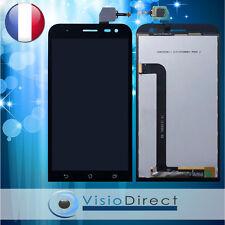 Ecran complet pour Asus Zenfone 2 Laser ZE550KL noir vitre tactile + LCD