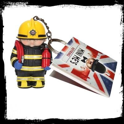 BRAND NEW MINI ME FIREFIGHTER KEYRING