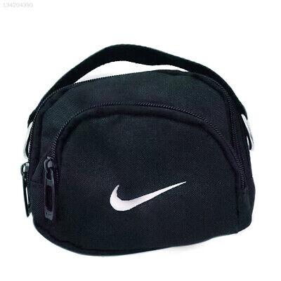 0736 BLACK Sling Bag Shoulder Bags Lady Handbag Sport Travel Party Men for NIKE