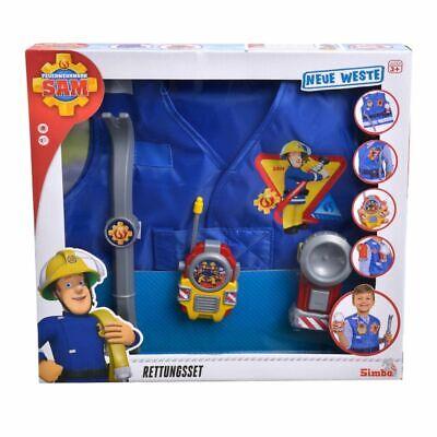 Equipo de Rescate | Sam El Bombero | Fireman Sam | Chaleco...