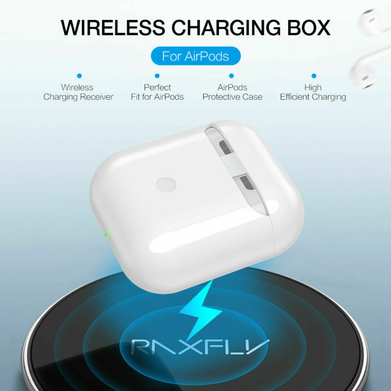 Qi Wireless Charger Receiver Charging Headset Smart Cover Ca