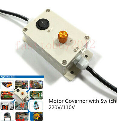 Governor Variable Speed Controller With Switch For Vibration Motor Ac 220v110v