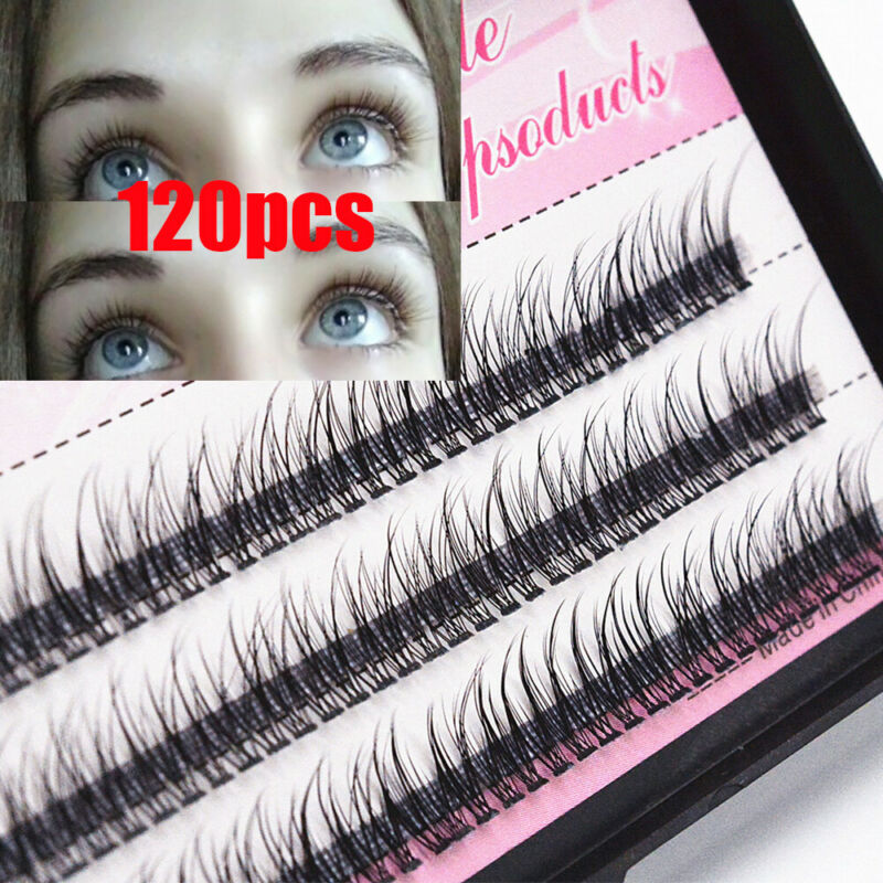 0.10 Thickness C Curl Mink Individual Cluster Flare Lashes F