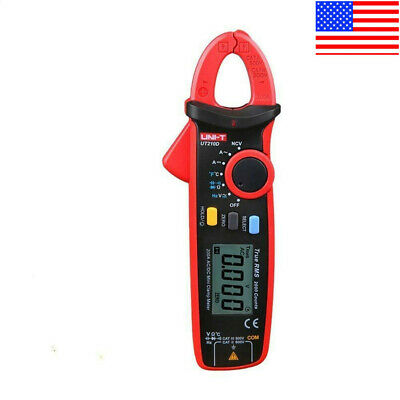 Uni-t Ut210d Digital Clamp Meter Acdc Current Voltage Multimeter Temp Tester