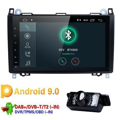 "9"" DAB+Android 9.0 Autoradio Mercedes A/B Klasse Sprinter Viano Vito Crafter GPS"