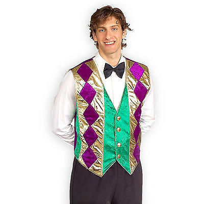 Mardi Gras Vest (Mardi Gras Vest - Adult Costume)
