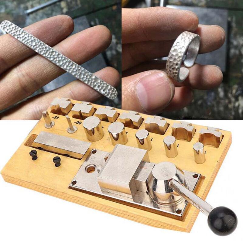 Metal Ring Bending Bender Shaping Blanks Machine Shape Rings Jewelry Making Tool