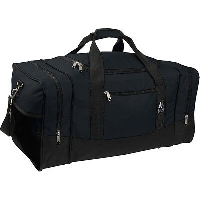 Everest 20  Sporty Gear Bag 8 Colors Gym Duffel New