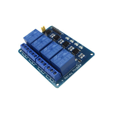 4 Channel 5v Relay Shield Module Board For Arduino Raspberry Pi Arm Avr