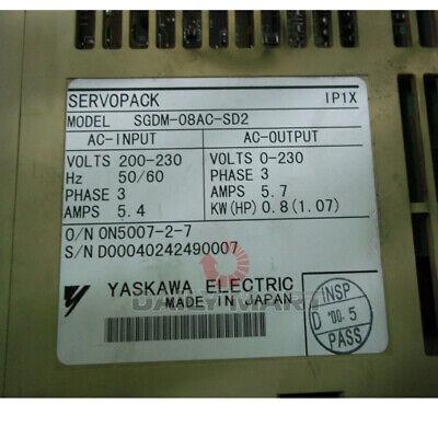 New In Box Yaskawa Sgdm-08ac-sd2 Servo Drive
