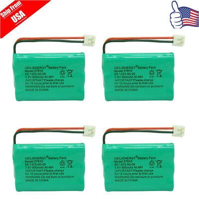 4x Cordless Home Phone Battery Pack For V-Tech ER-P510 89-1323-00-00 Model -