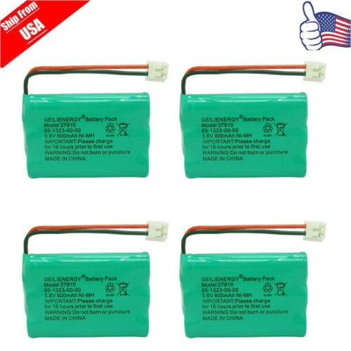 4x Cordless Home Phone Battery Pack For V-Tech ER-P510 89-13