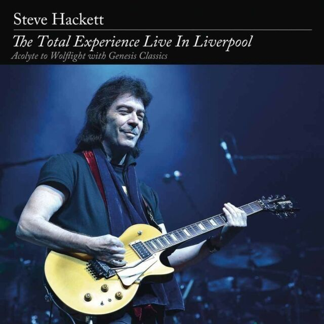 STEVE HACKETT - THE TOTAL EXPERIENCE LIVE IN LIVERPOOL   BLU-RAY NEU