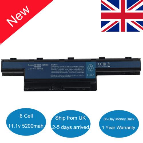 Laptop Battery for Acer Aspire 4551 4741 5741 5551 5742Z 5750 AS10D31 AS10D51 UK