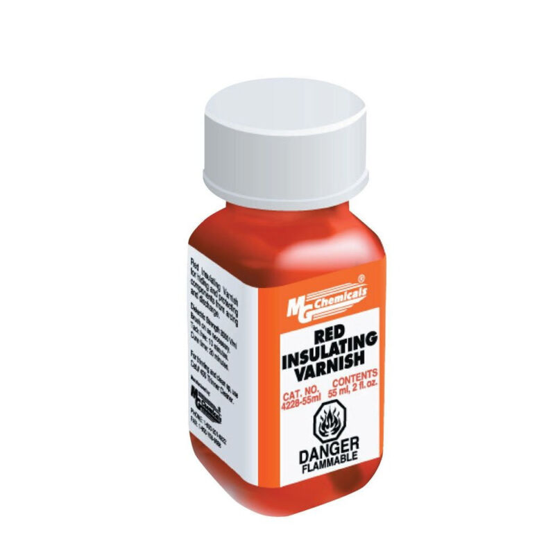 MG Chemicals 4228-55ML Red GLPT Insulating Varnish 55ml Bottle NEW!!!