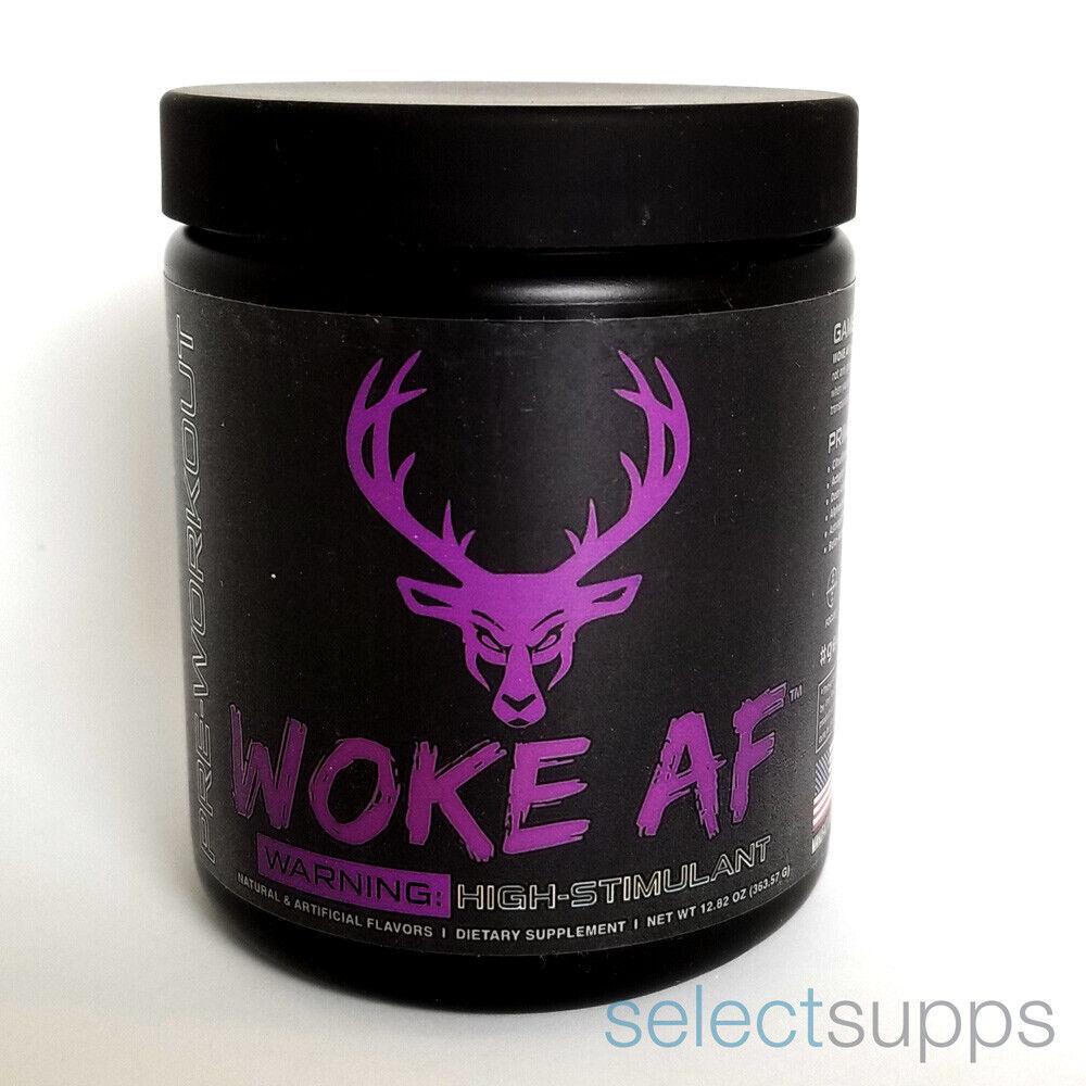 CLEARANCE Woke AF Pre-Workout - Grape Gainz Flavor - 30 Serv