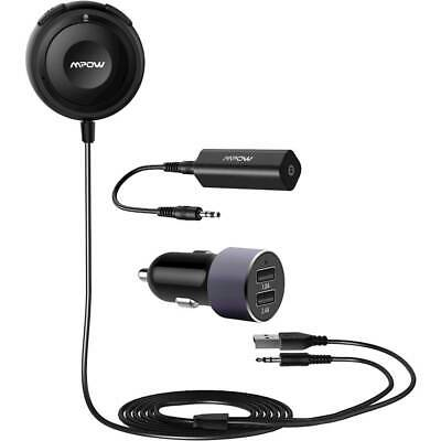 Mpow MBR2 Bluetooth Car Kit |  Bluetooth 5.0 Receiver with Dual USB Car Charger