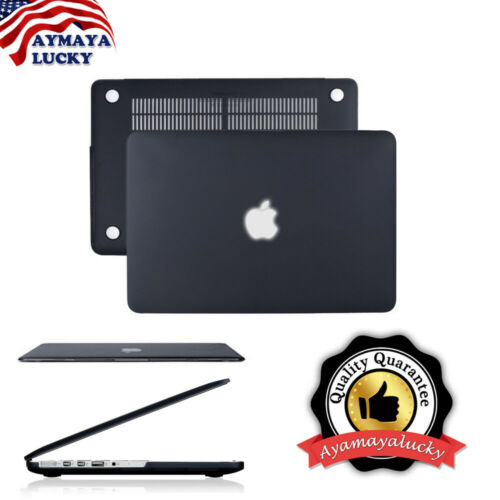 """как выглядит Black Rubberized Matte Hard Shell Case Protect for MacBook Pro 13inch A1278 13"""" фото"""