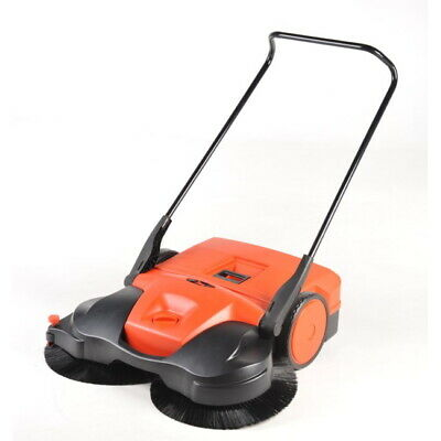 Haaga 697 Sweeper Outdoor Indoor 38 Battery Powered Push Sweeper