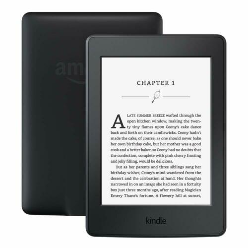 "Kindle Paperwhite E-reader (Previous Generation - 7th) Black, 6"" High-Resolution"