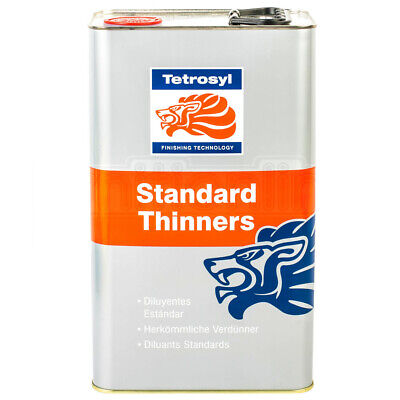Tetrosyl Standard Paint Thinners Cellulose Cleaning Gun Cleaner Primer 5 Litre