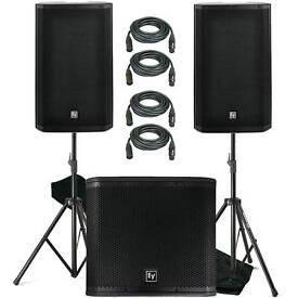 DJ/ One Man Band PA HIRE