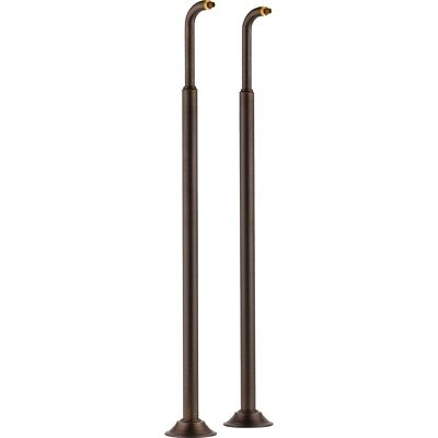 Brizo Traditional RP73766RB Venetian Bronze Floor Mount Tub Filler Risers ()