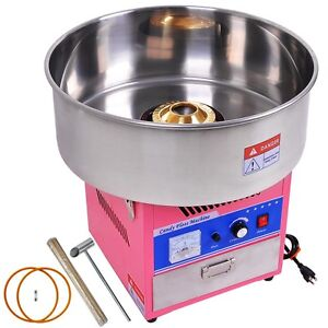 Electric Cotton Candy Maker GEN3 Pink Carnival Commercial Floss Machine Party
