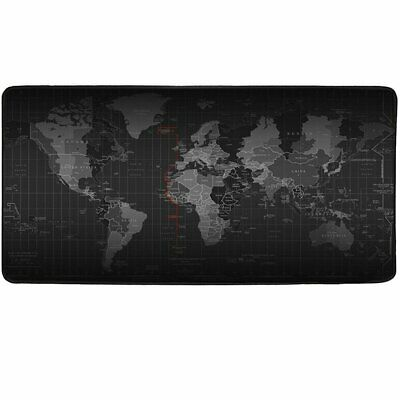 New Large Mouse Pad Extended Gaming XXL 800x300mm Big Size Desk Mat Black Computers/Tablets & Networking