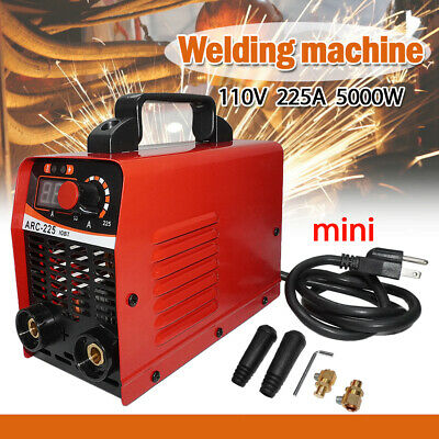 Us Portable Mini Electric Welding Machine Inverter Mma Stick Welder 110v Igbt Dc