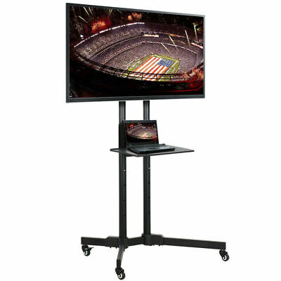 """Adjustable TV Stand Mobile Cart Mount Wheels for Plasma LED Flat Screen 32- 70"""", used for sale  Shipping to South Africa"""