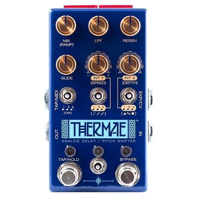 Chase Bliss Audio Thermae Analog Delay Pitch Shifter MIDI Guitar Effects Pedal