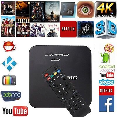 ROOTED S905 Kodi Tv , XBMC Smart TV Android Streaming Ott TV Box Vs Fire Stick