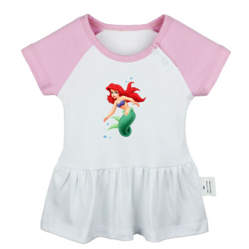 Disney Little Mermaid Ariel Newborn Baby Girls Dress Infant