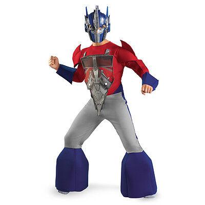 Transformers Optimus Prime Deluxe Costume New Size 4-6 Small 2012 Child