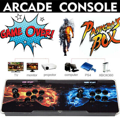 Pandora's Box 999 in 1 Video Game 2 Players Retro Arcade Machine Console Support
