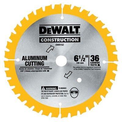 Dewalt Dw9152 6-12 X 36 Tooth Aluminum Cutting Blade