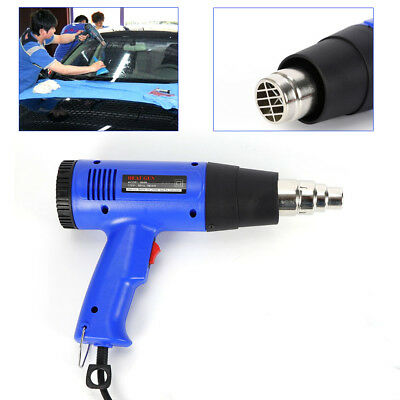 Heat Gun Adjustable Temperature 1800w Hot Air Gun 50-600free Nozzle