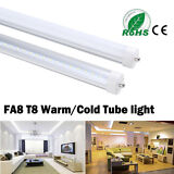 4-100 Pack Single Pin 8FT 40W FA8 T12 T8 Fluorescent Replacement LED Light Tube