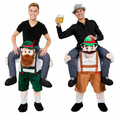 Fancy Dress Costume Carry Me Bavarian Beer Guy Ride On Oktoberfest Mascot Hot (Fancy Me Costumes)