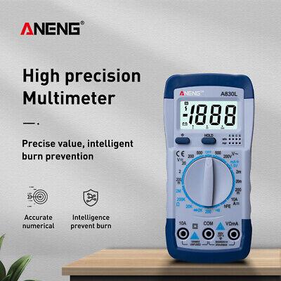 A830l Digital Multimeter Voltmeter Ammeter Tester Electric Lcd Multitester Meter