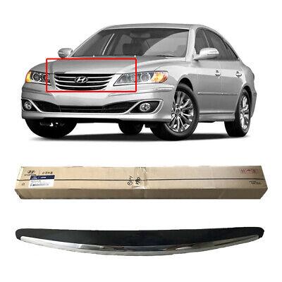 [Express] OEM Hood Radiator Grille Upper Garnish Assy for Hyundai Azera TG 06-11