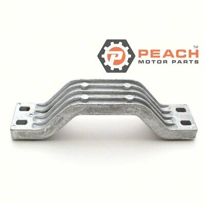 Peach Motor Parts PM-6G5-45251-02-00 Anode Transom Bracket Aluminum Replaces Yam