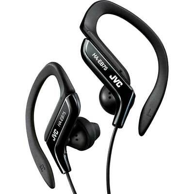 JVC HA-EB75B Sports Ear-Clip Headphones , Black FAST SHIPPING! -