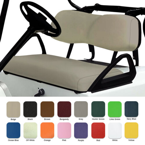 EZGO TXT Golf Cart Front Seat Cover Vinyl Set STAPLE ON Replacement 1996-2013