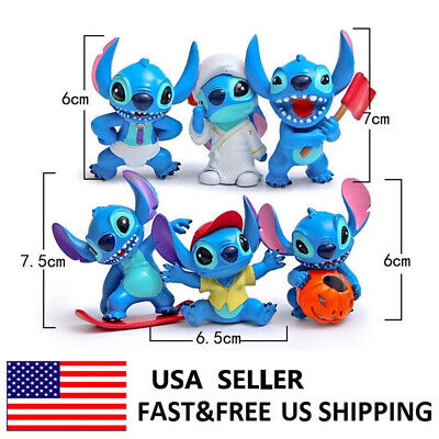 Lilo And Stitch Decorations (Lilo Stitch Halloween Action Figure Doll Toys Kids Gifts Cake Toppers Decor)