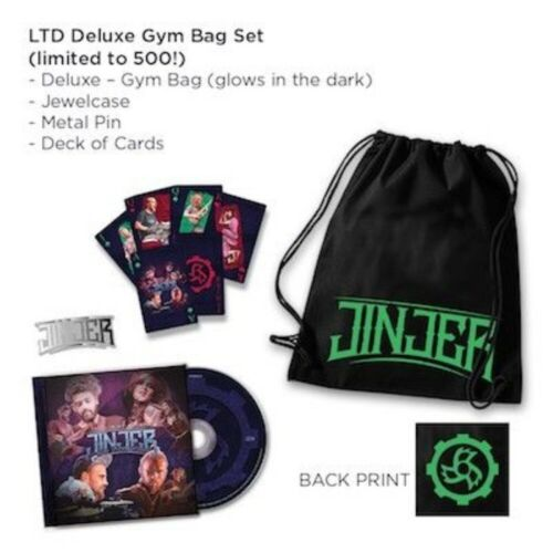 JINJER - Alive In Melbourne 2020 / LIMITED DELUXE GYM BAG EDITION cd deck cards