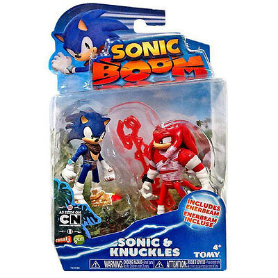 Sonic Boom 2 Figure Pack - Sonic and Knuckles 3 Inch Figures  *BRAND NEW*