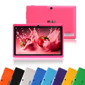 "IRULU Tablet PC Multi-Color 7"" Google Android 4.2 Dual Core"