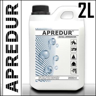 2 Liter APREDUR TEXTIL NANO Imprägniermittel Imprägnierung Imprägnierspray Zelt